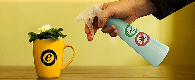 spray su tazza
