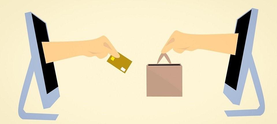 carta di credito in cambio di pacchetto