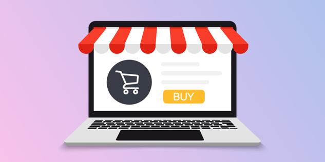 laptop online-shopping