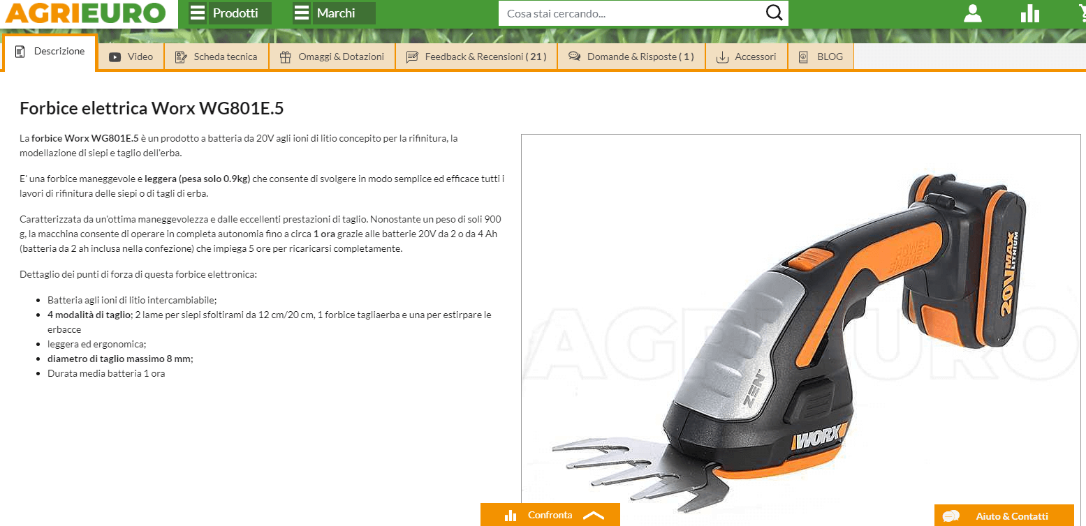 agrieuro-user-experience