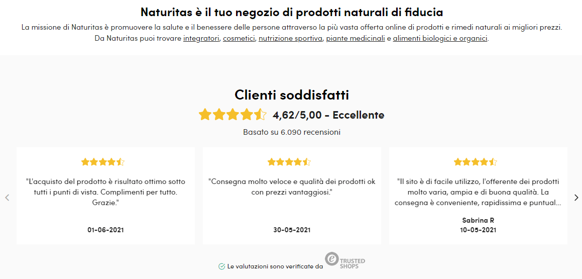 naturitas-recensioni-trusted-shops-homepage