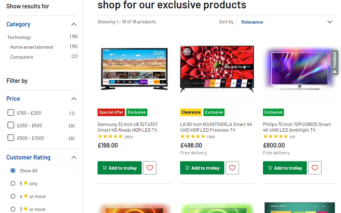 Argos_UK_example_search_filters_UX_website